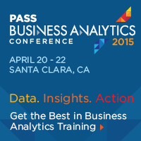 PASS BA Conference 2015